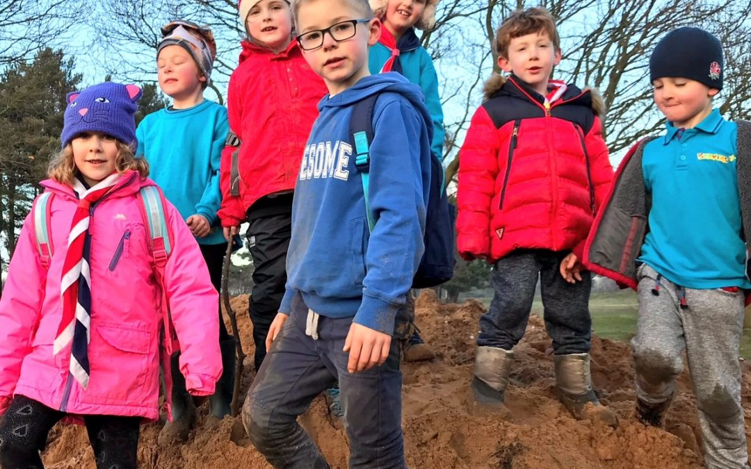 Record Breaking Numbers Of Scouts Set For Freezing Fun Day And Chilly Challenge Walks